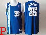 Mens Nba Oklahoma City Thunder #35 Durant Dark Blue Revolution 30 Jersey (p)
