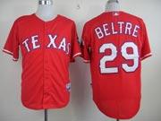 Mens mlb texas rangers #29 beltre red Jersey