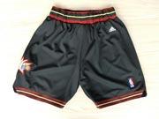 Nba Philadelphia 76ers Black Shorts (mesh Style)