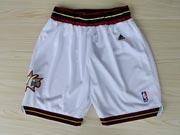 Nba Philadelphia 76ers White Shorts (mesh Style)