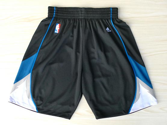 Nba Minnesota Timberwolves Black Shorts (new Mesh Style)