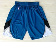 Nba Minnesota Timberwolves Blue Shorts (new Mesh Style)