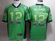 Mens Nfl Seattle Seahawks #12 Fan Green (drift Fashion) Game Jersey