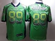 Mens Nfl Seattle Seahawks #89 Baldwin Green (drift Fashion) Game Jersey