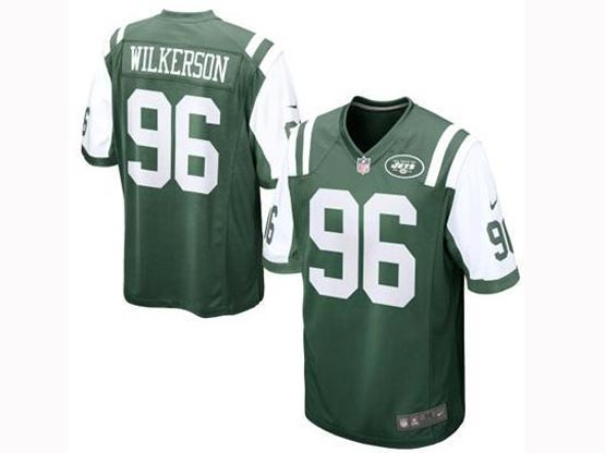 Mens Nfl New York Jets #96 Wilkerson Green Limited Jersey
