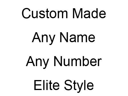 Nfl Buffalo Bills (custom Made) Red Elite Jersey