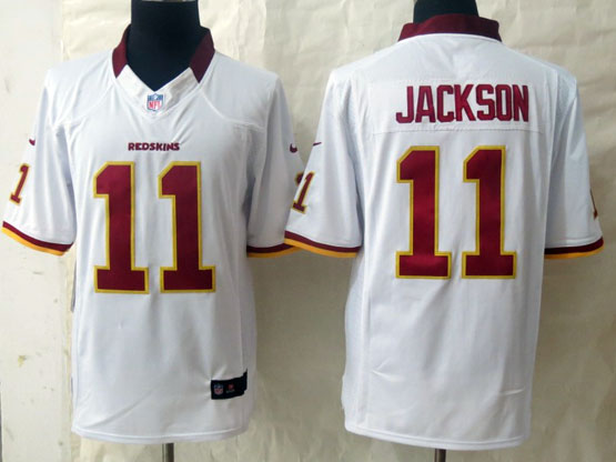Mens Nfl Washington Redskins #11 Jackson White Limited Jersey