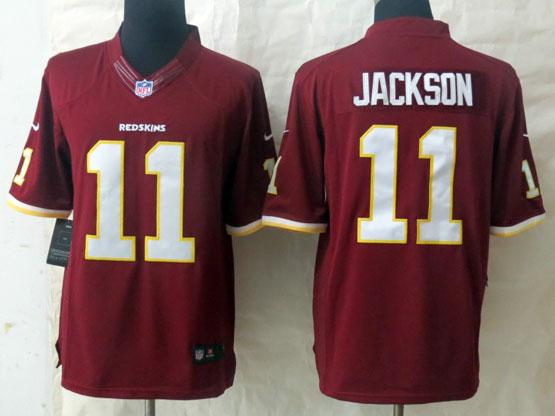 Mens Nfl Washington Redskins #11 Jackson Red Limited Jersey