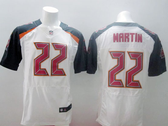 Mens Nfl Tampa Bay Buccaneers #22 Martin White (2014 New) Elite Jersey