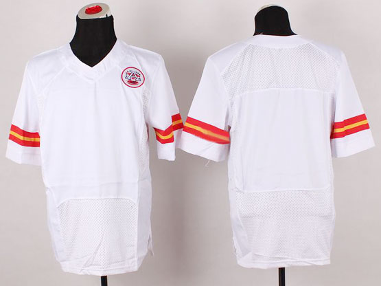 Mens Nfl Kansas City Chiefs (blank) White Elite Af Jersey
