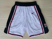Nba Usa 1 1992 White Shorts