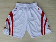 Nba Houston Rockets White Short (new Mesh Style)