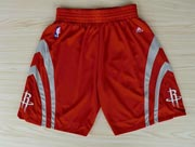 Nba Houston Rockets Red Short (new Mesh Style)