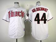 Mens Mlb Arizona Diamondbacks #44 Paul Goldschmidt White Jersey