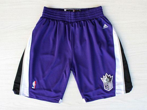 Nba Sacramento Kings Purple Shorts