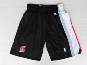 Nba Portland Trail Blazers Black Shorts
