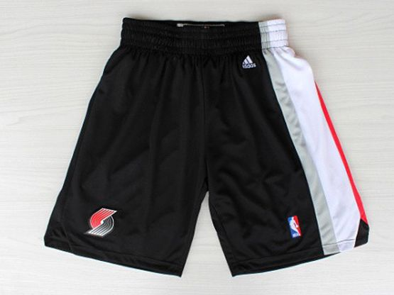 Nba Portland Trail Blazers Black Shorts
