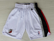 Nba Portland Trail Blazers White Shorts