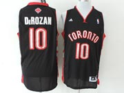 Mens Nba Toronto Raptors #10 Derozan Black (new Mesh) Jersey