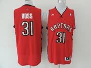 Mens Nba Toronto Raptors #31 Ross Red (new Mesh) Jersey