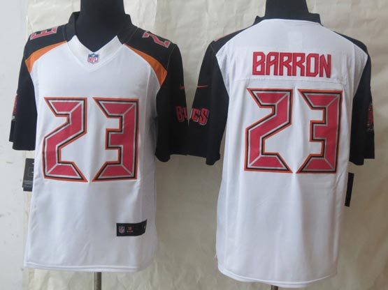 Mens Nfl Tampa Bay Buccaneers #23 Barron White (2014 New) Limited Jersey