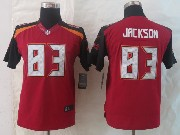 Youth Nfl Tampa Bay Buccaneers #83 Jackson Red Limited Jersey