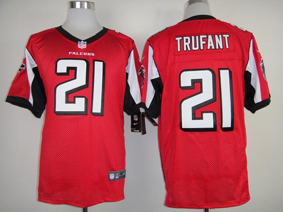 Mens Nfl Atlanta Falcons #21 Trufant Red Elite Jersey