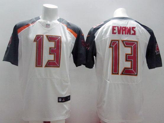 Mens Nfl Tampa Bay Buccaneers #13 Evans White (2014 New) Elite Jersey