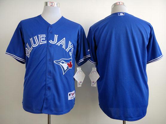 Mens mlb toronto blue jays (blank) blue 2012 new style Jersey