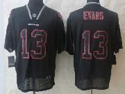 Mens Nfl Tampa Bay Buccaneers #13 Evans Black (new Lights Out) Elite Jersey