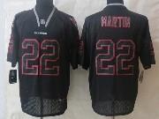 Mens Nfl Tampa Bay Buccaneers #22 Martin Black (new Lights Out) Elite Jersey