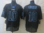 Mens Nfl Tennessee Titans #10 Locker Black (new Lights Out) Elite Jersey
