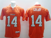 Mens Cfl British Columbia Lions #14 Lulay Ornage Jersey