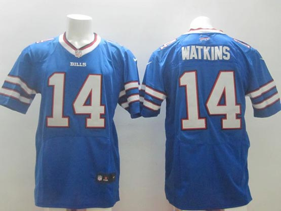 mens nfl Buffalo Bills #14 Sammy Watkins light blue (2013 new) elite jersey