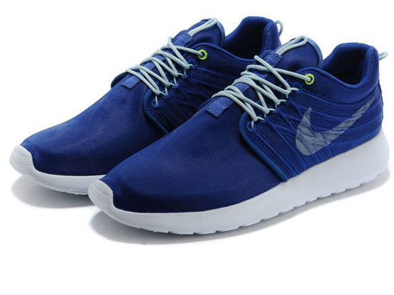 Women    2014 Roshe Run Dyn Fw Qs Running Shoes Color Dark Blue&white&white 580579