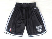 Nba Brooklyn Nets Black Short (new Mesh Style)