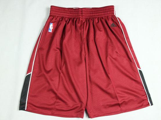 Nba Miami Heat Red Christmas Shorts(new Mesh Style)
