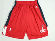 Nba Washington Wizards Red Shorts (new Mesh Style)