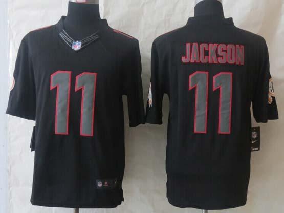 Mens Nfl Washington Redskins #11 Jackson Black New Impact Limited Jersey
