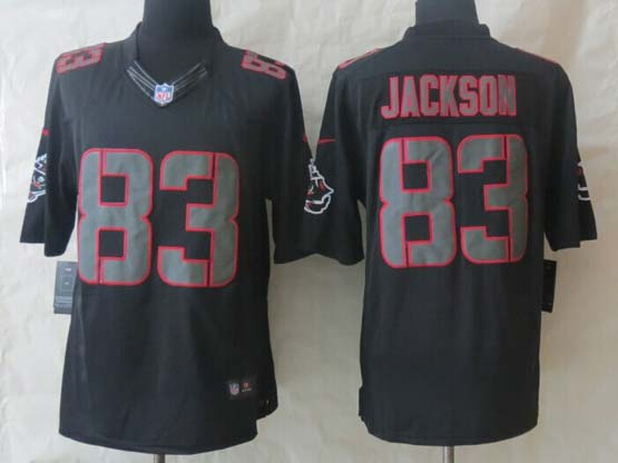 Mens Nfl Tampa Bay Buccaneers #83 Jackson Black (2014 New) Impact Limited Jersey
