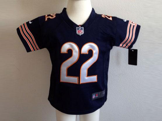 Kids Nfl Chicago Bears #22 Forte Blue Jersey