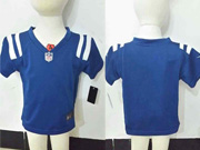 Kids Nfl Indianapolis Colts Blank Blue Jersey