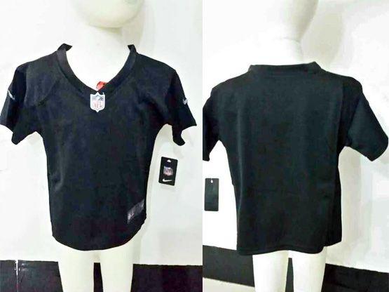 Kids Nfl Oakland Raiders Blank Black Jersey