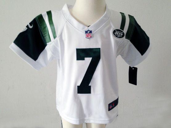 Kids Nfl New York Jets #7 Smith Green Jersey