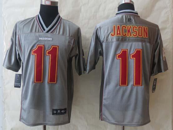 Mens Nfl Washington Redskins #11 Jackson Gray (2014 New Vapor) Elite Jersey
