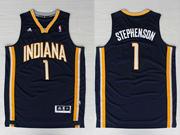 Mens Nba Indiana Pacers #1 Stephenson Blue Revolution 30 Jersey (p)