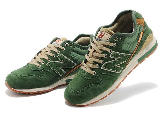 Women  New Balance 996 Running Shoes Color Green&khaki