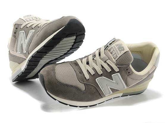 Women  New Balance 996 Running Shoes Color Gray