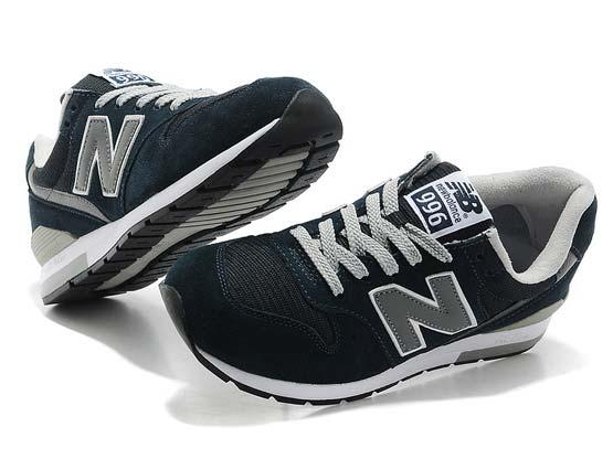 Women  New Balance 996 Running Shoes Color Dark Blue&gray