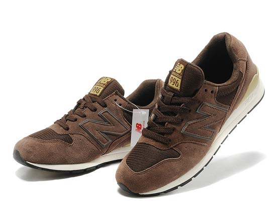 Women  New Balance 996 Running Shoes Color Coffee